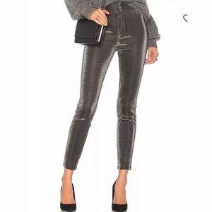 NWT lovers + friends metallic legging/pants small